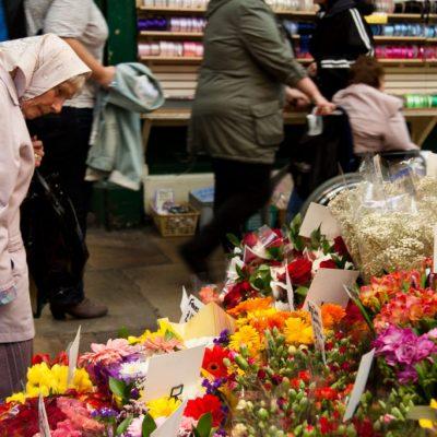 Women at Leeds Market